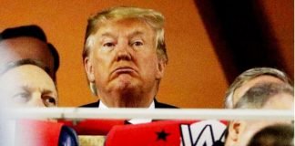 Trump abucheado en serie mundial