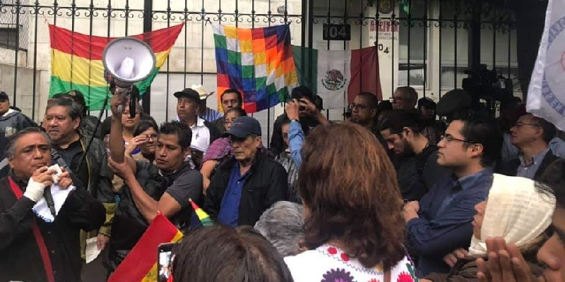 embajada Bolivia