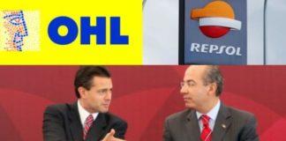 AMLO: Repsol y OHL, compañías favoritas de Calderón y Peña