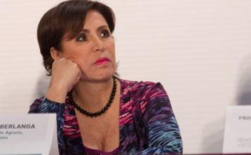 Interpone Rosario Robles otro amparo contra prisión preventiva