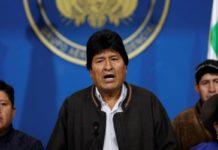 Evo Morales descarta renuncia y llama a nuevas elecciones