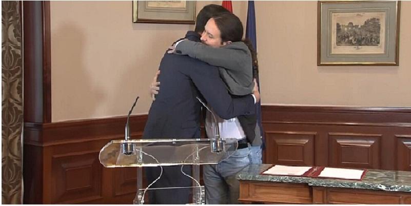 PSOE y Podemos en acuerdo de gobierno