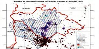 Ríos de Puebla contaminados
