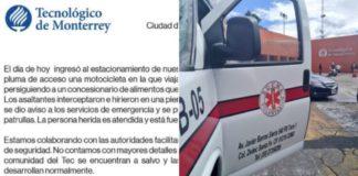 Balacera en Tec de Monterrey Santa Fe deja un herido