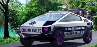 Edil de Ciudad Valles compra 15 camionetas cybertruck de Tesla