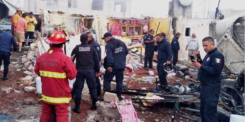 Tultepec, accidente