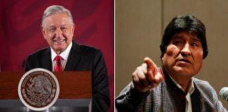 Golpistas muestran carácter violento, Evo Morales se solidariza con AMLO