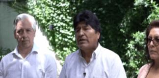 """""""Volveremos en corto tiempo"""", dice Evo Morales en mensaje navideño"""
