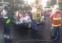 Accidente automovilístico en Iztapalapa deja 5 personas fallecidas