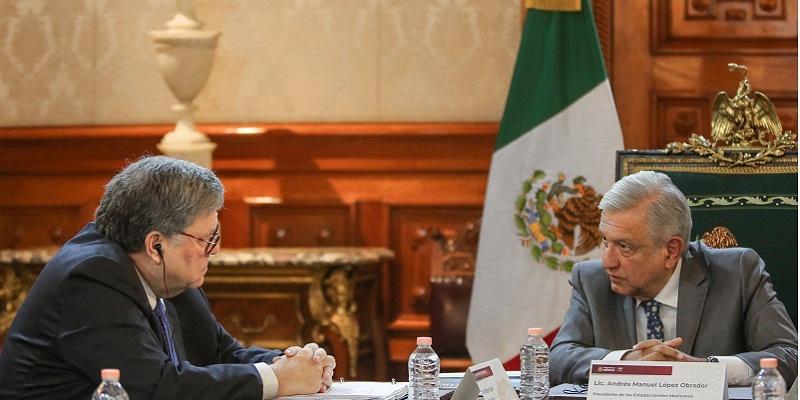 AMLO reunión con Fiscal General de EU