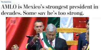 AMLO el presidente más fuerte