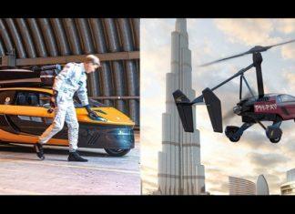 Auto volador comercializado en Holanda