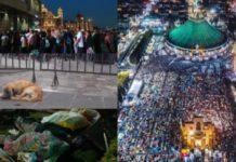 Llegan 9.8 millones de peregrinos a la Basílica de Guadalupe