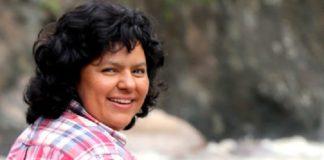 Berta Cáceres. justicia