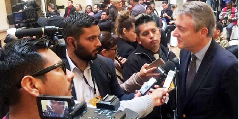 Europa pide explicaciones a Bolivia