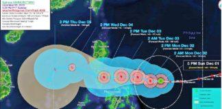 Filipinas azotado por tifón Kammur