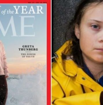 """Greta Thunberg es reconocida como la """"persona del año"""" por Time"""