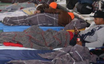 INM, refugios temporales de invierno