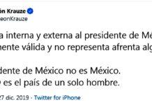 Krauze apoya a sus pares de derechas bolivianos