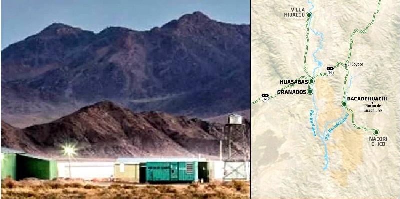 Litio en Sonora y Chihuahua