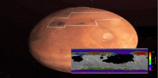 NASA revela agua en Marte