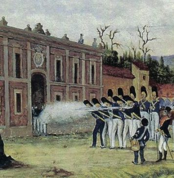 Fusilan en Ecatepec, al siervo de la nación, José María Morelos
