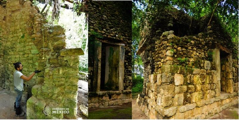 Confirma INAH hallazgo de palacio maya en Yucatán