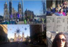 Pueblo organizado va hacia el Zócalo para respaldar a AMLO