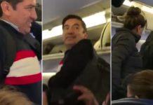 """Familia se baja del avión donde viaja AMLO, """"por su seguridad"""", dicen"""