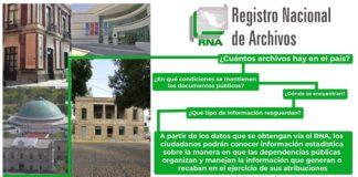 Archivos Nacionales, registro