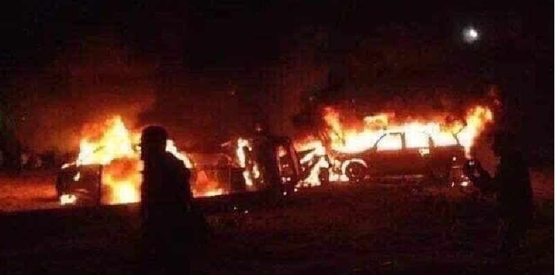 Estados Unidos ataca Bagdad