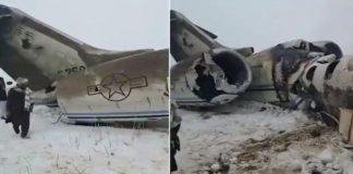 Cae un avión militar de Estados Unidos al este de Afganistán