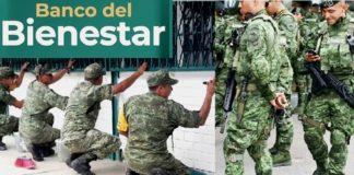 AMLO sucursales de bienestar construidas por ejército