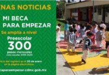 CDMX: Inicia registro para beca a niños y niñas de preescolar