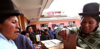 Bolivia, elecciones, primeros sondeos