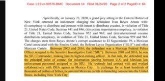 Fiscalía de EU, nuevas acusaciones vs García Luna