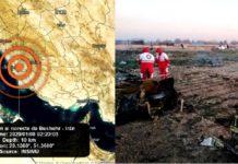 Irán, sismos y accidente aéreo