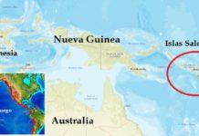 Sismo en Islas Salomón