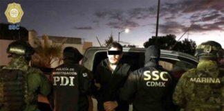Autoridades capturan a 'El lunares', de la Unión Tepito, en Hidalgo