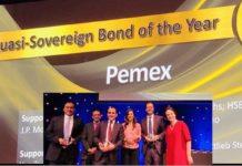 Premios a México por manejo financiero