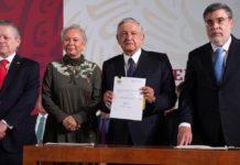 AMLO respalda reforma a Poder Judicial. Sin nepotismo y corrupción