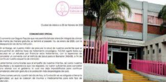 FUCAM informa a pacientes término de servicio gratuito