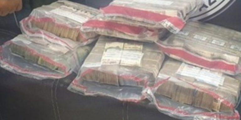 Guardia Nacional detiene a 2 personas, transportaban 16 millones de pesos