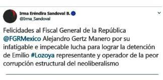 FP: Lozoya operador de la peor corrupción