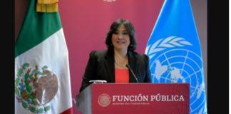 Función Pública de México y ONU firman acuerdo vs corrupción