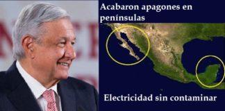 AMLO, electricidad sin contaminar