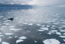 Antártida, calentamiento global
