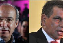 Calderón y Fidel Herrera