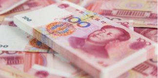China desinfecta billetes