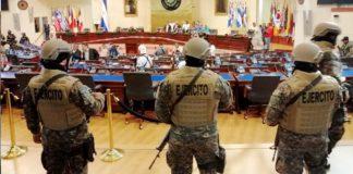 El Salvador, condenan militarización